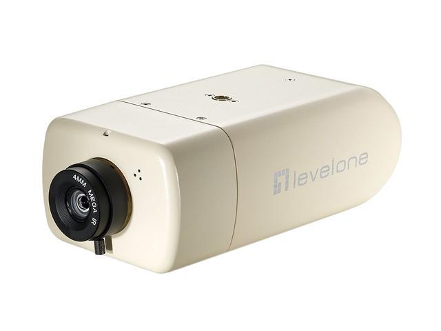LevelOne FCS-1131 2-Mega Pixel FCS-1131 10/100 Mbps PoE IP Network Camera w/SD/SDHC Card Slot