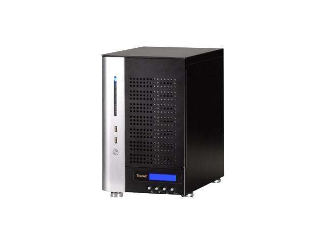 Thecus NVR77 7 Bay Tower Celeron M Network Video Recorder supports 10 IP cameras