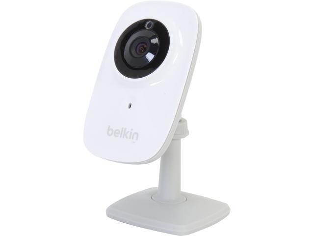 Belkin NetCam F7D7602, Wi-Fi 720P HD IP Camera w/ Night Vision, Easy mobile-device setup