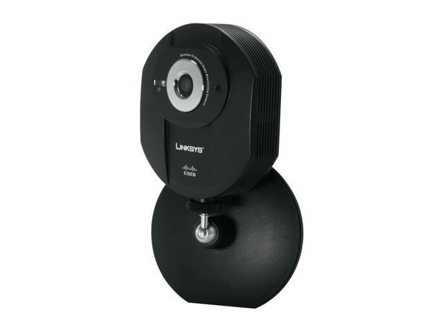 LINKSYS WVC54GCA 640 x 480 MAX Resolution RJ45 Wireless-G Internet Home Monitoring Camera