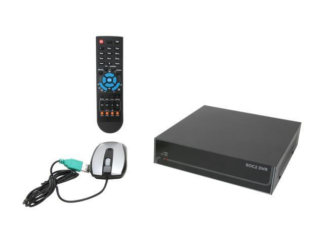 "Aposonic A-S0401R21 4 x BNC Support: 1 x 3.5"" SATA HDD up to 2TB each Multi-functional DVR"