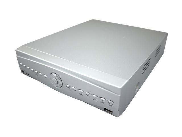 Aposonic A-S0804R8A 8 x BNC 1TB HDD pre-installed (2TB Compatible) H.264 Standalone Surveillance DVR