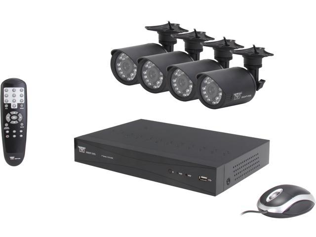 Night Owl P-45-4624N 4 Channel 960H DVR with HDMI Output, 500 GB HDD, 4 x 600TVL Day/Night Cameras
