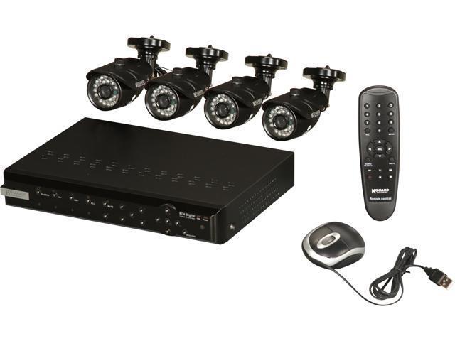 KGuard NS801-4CW214H 8 Channel Surveillance DVR Kit