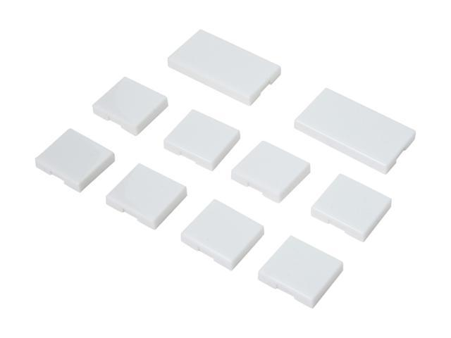 SmartLabs 2401BT10 Blank 10-Button Set for KeypadLinc, White