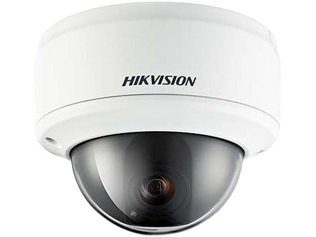 Hikvision DS-2CD793NFWD-E 704 x 480 MAX Resolution RJ45 WDR Vandal Resistant Network Dome Camera