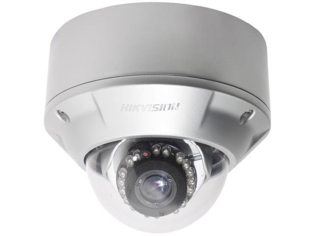 Hikvision DS-2CD762MF-IFB 1280 x 960 MAX Resolution RJ45 1.3 Megapixel CCD-based Vandal Proof Network Dome IR Camera