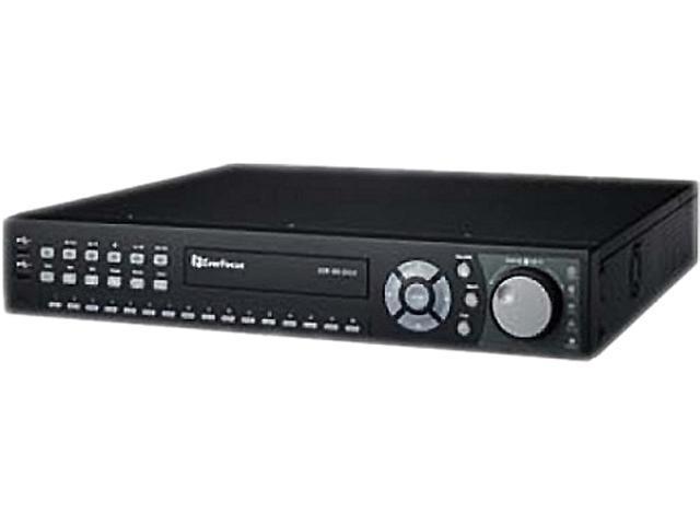EverFocus EDRHD4H4/8 4 x BNC 8 TB 4 Channel HD and 4 Channel AnalogHDcctv Hybrid DVR