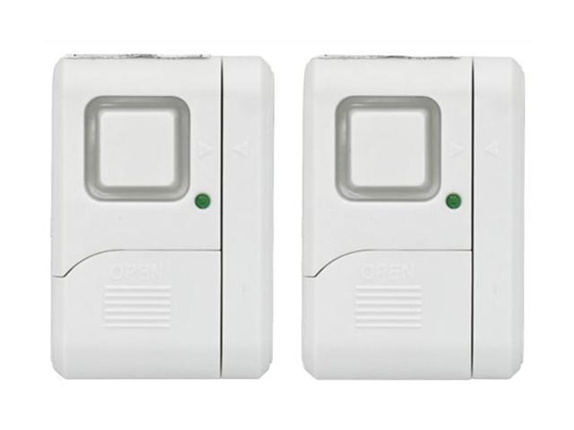 GE 45115 Personal Security Window or Door Alarm (2 pack)