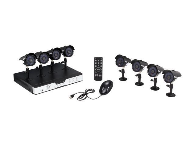 Zmodo KDS8-NARQZ8ZN 8 Channel Surveillance DVR Kit