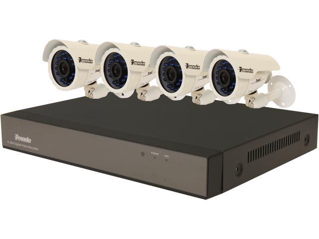 Zmodo KDS4-BARBZ4ZN 4 Channel Surveillance DVR Kit