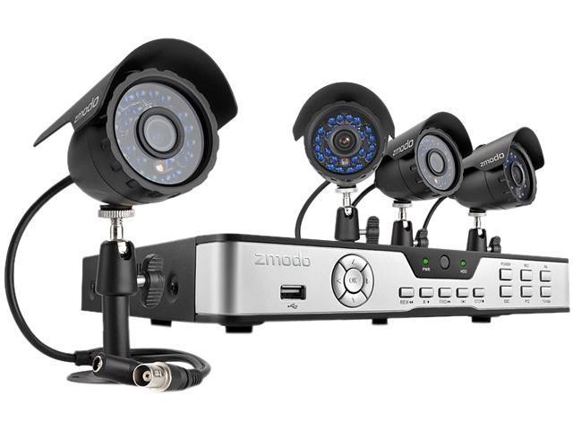 Zmodo KDB8-CARQZ4ZN 8 Channel Surveillance DVR Kit