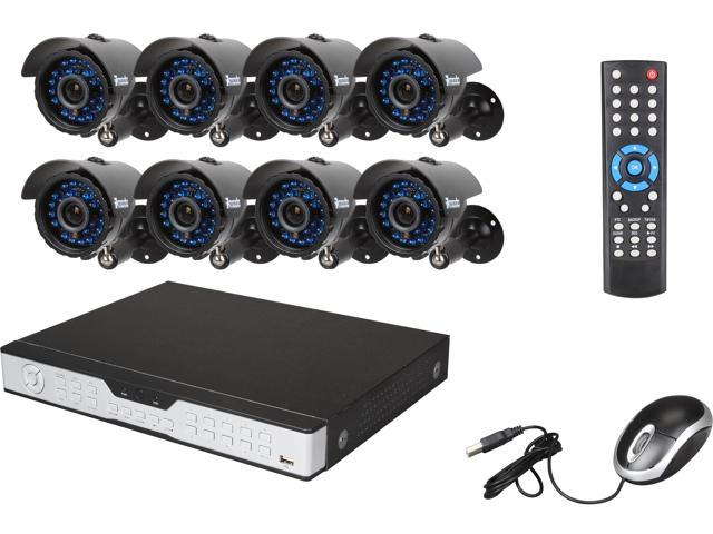 Zmodo KDH6-CARQZ8ZN 16 Channel Surveillance DVR Kit