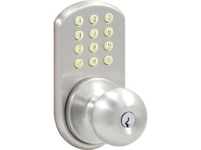 Morning Industry HKK-01SN Touchpad Door Knob For Keyless Entry Into A Home