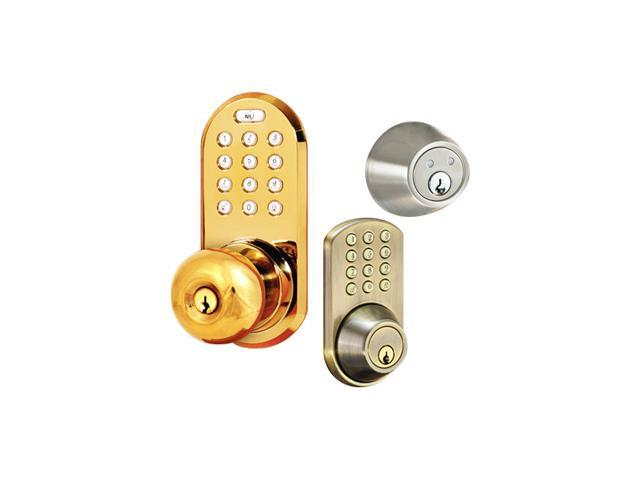 Dead Bolt For Keyless Entry Into A Home