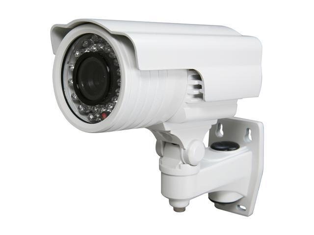 Vonnic C104W 480 TV Lines MAX Resolution Outdoor Night Vision Bullet Camera - White