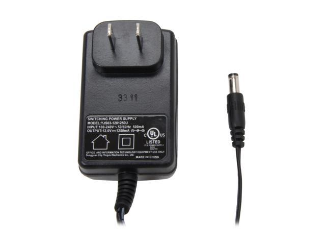 Vonnic VPA121250U 1.25 Amp Power Adapter UL