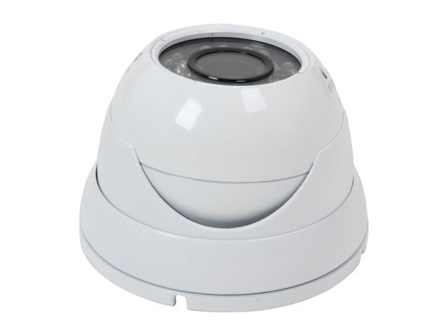 Vonnic VCD505W2 Outdoor Night Vision Dome Camera - White