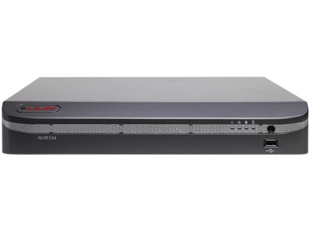 Lilin NVR104-2TB 2TB 1080P Real-time Multi-touch 4 Channel Standalone NVR