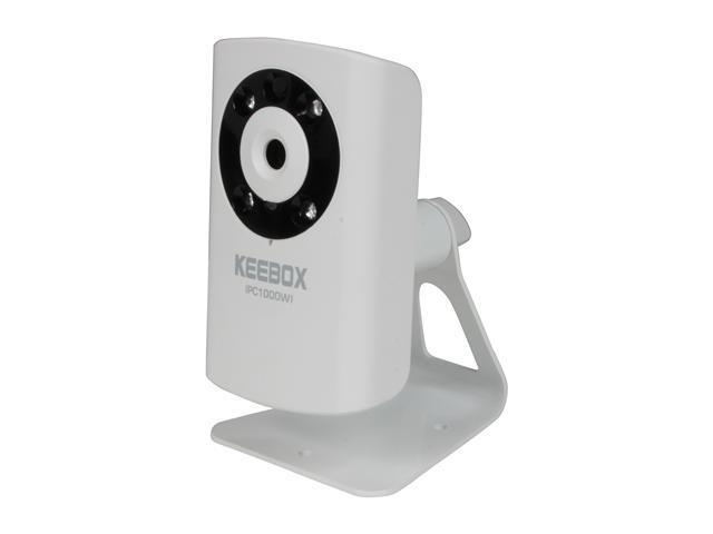Keebox IPC1000WI 640 x 480 MAX Resolution RJ45 KView Wireless N Day/Night Internet Camera