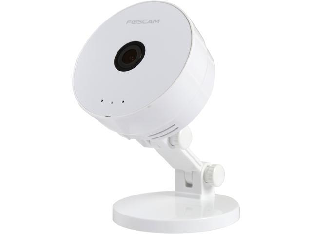 Foscam C1 Lite 720P HD Wireless PnP IP Camera with Wide 115 Degree View Angle, Digital Zoom, Two Way Audio, Motion Detection and Message Push