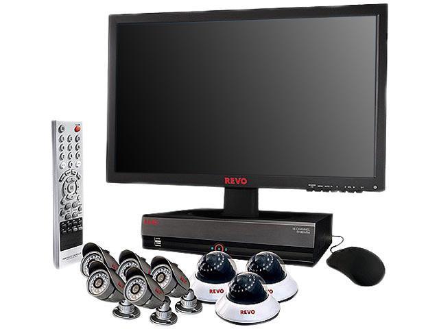 REVO America R164D3FB5FM21-2T 16 Channel Surveillance DVR Kit