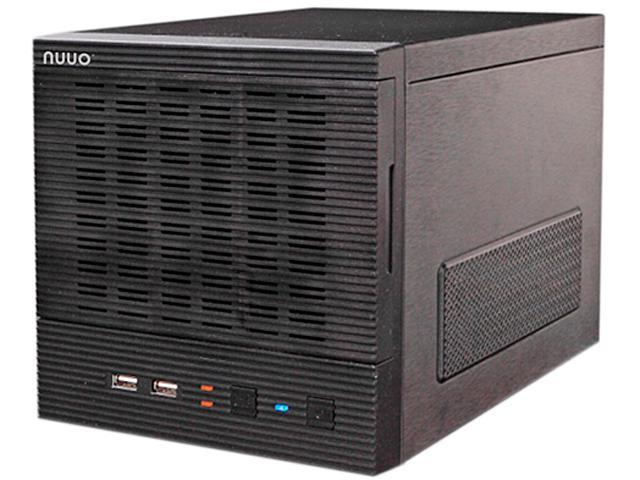 NUUO NT-4040-US-8T-4 8TB (4TB x2) 250Mbps Throughput NVR Standalone 4ch, 4bay, 8TB (4TB x2) included, US Power Cord