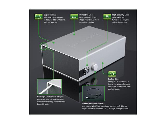 Xitel LBPORENG mySAFE Portable Lockbox