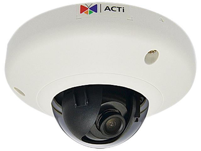 ACTi  E93 5MP HD 1080P with Super Wide Angle Lens Vandal Resistant IP PoE Dome Camera