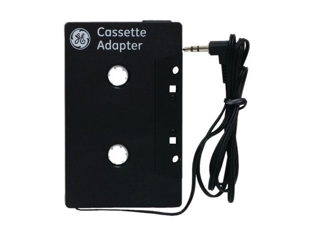 GE 73627 Cassette Adapter (Black)