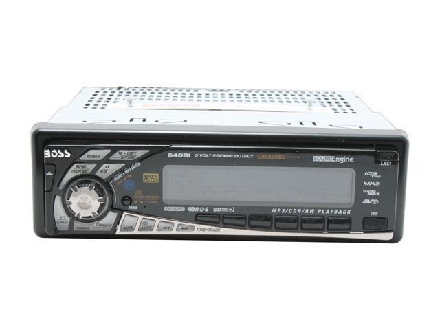 BOSS AUDIO Bluetooth Enabled In-Dash CD/MP3 Receiver W/USB Port Model 648BI