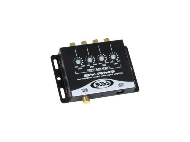Video Signal Amplifier 4 RCA Outputs