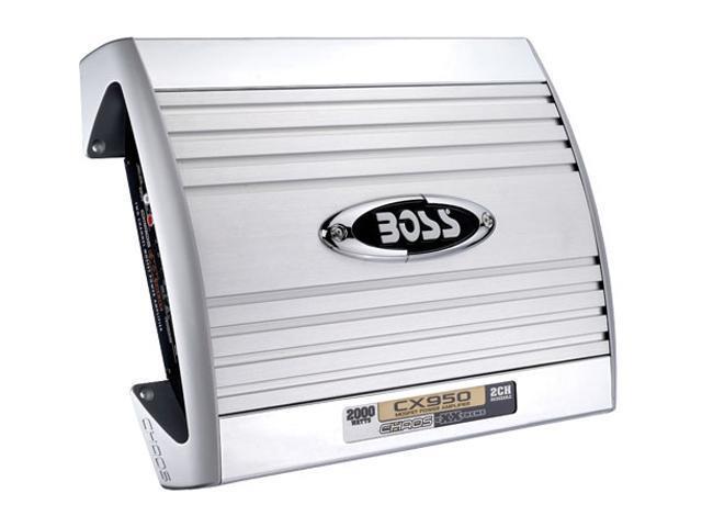 BOSS AUDIO 2000W 2 Channels Bridgeable MOSFET Power Amplifier
