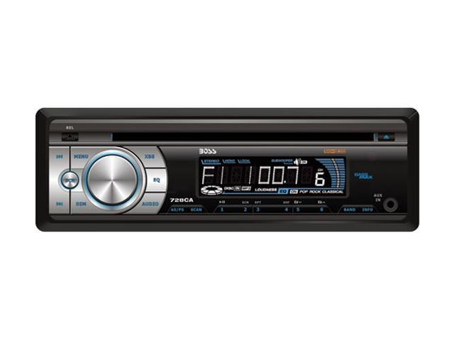 BOSS AUDIO In-Dash AM/FM CD Receiver With Front Panel Aux Input