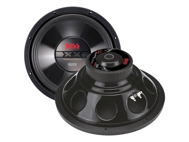 BOSS Audio CX8 8-inch 400-watt SINGLE Voice Coil Subwoofer
