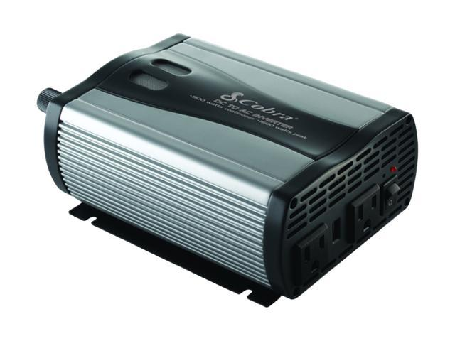 Cobra 400-Watt 12-Volt DC to 120-Volt AC Power Inverter with 5-Volt USB Output