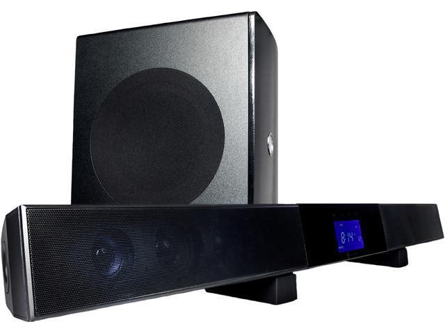 Current Audio SB65 40 watt four drivers with two tweeter soundbar and 60 watt 6.5