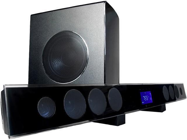 Current Audio SB80 Soundbar and Subwoofer