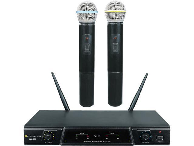 Martin Ranger WM-100 Dual Channel Wireless Microphone System