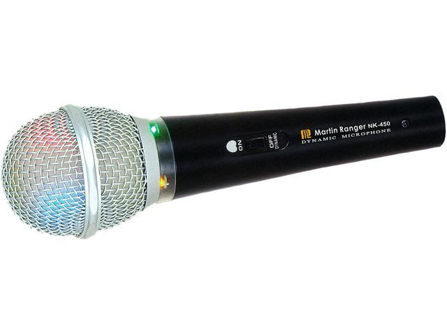 Martin Ranger NK-450 Professional Dynamic Microphone with running lights