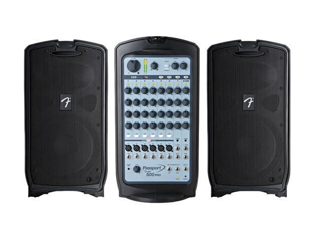 Fender Passport 500 PRO Portable PA System 500-Watt