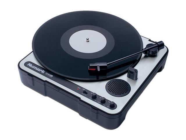 Numark - Portable Vinyl-Archiving Turntable (PT-01USB)