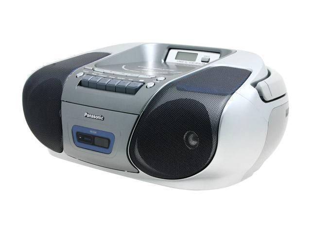 Panasonic CD Radio Cassette with MP3 Playback RX-D29