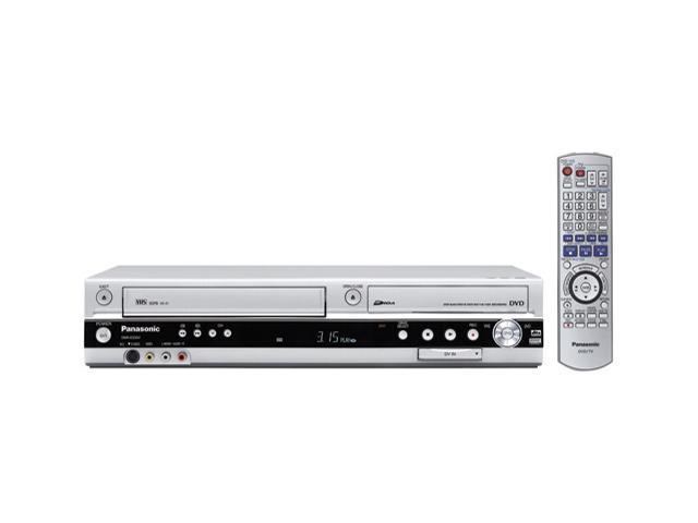 Panasonic DMRES35VS Progressive Scan DVD Recorder/VCR Combo
