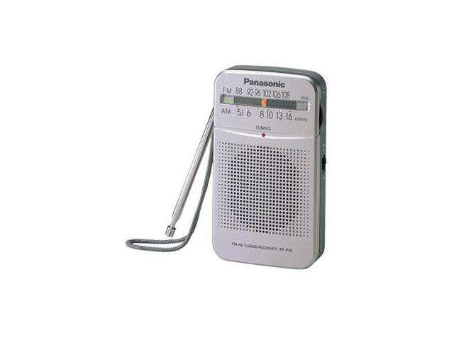 Panasonic AM/FM Pocket Radio RF-P50
