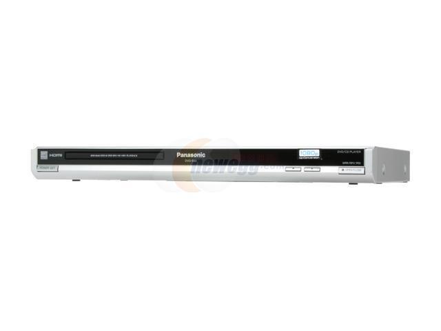Panasonic DVD-S53S 1080p Up-Converting DVD Player Silver
