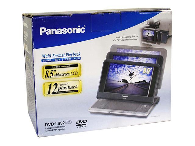 "Panasonic DVD-LS82 8.5"" Widescreen Portable DVD Player"