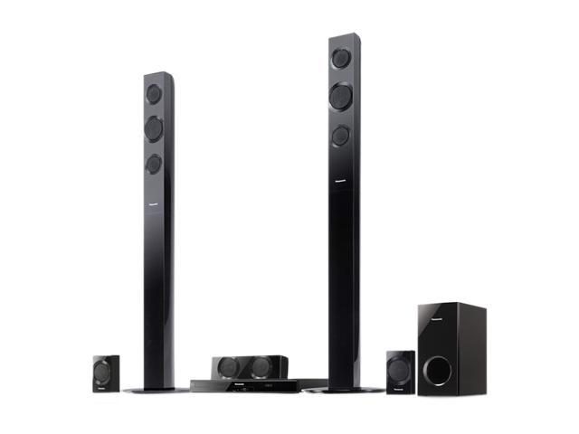 Panasonic SC-BTT195 3D Blu-Ray Disc 5.1 Surround Sound Home Theater System