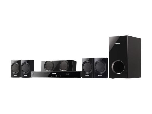 Panasonic SC-BTT190 3D Blu-Ray Disc 5.1 Surround Sound Home Theater System