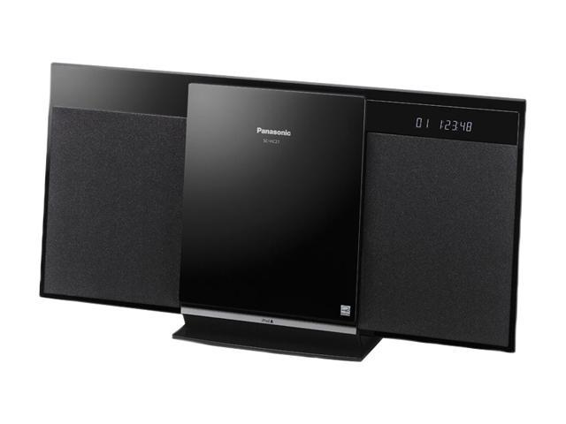 Panasonic SC-HC27 Compact Stereo System with iPod Dock
